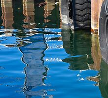 Relections - Fishing Boat Harbour - Fremantle by pennyswork