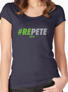 #REPETE 2016 Women's Fitted Scoop T-Shirt