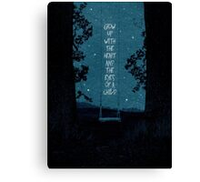 Heart of a Child Canvas Print