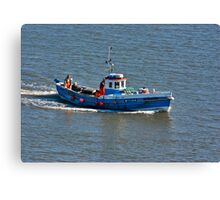 Whitby Fishing Boat Canvas Print