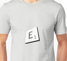 E Unisex T-Shirt