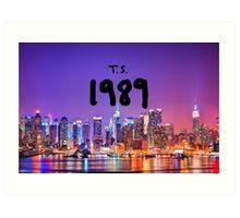 TS 1989 New York Art Print