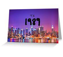 TS 1989 New York Greeting Card