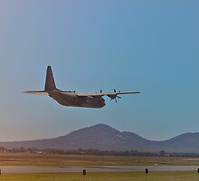 C130J Hercules False Landing by LJ_©BlaKbird Photography