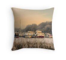 Colwick Marina Throw Pillow