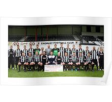 Chorley FC ~ The Magpies Poster