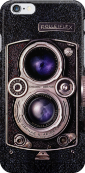Rolleiflex Camera iPhone Case by cdoty