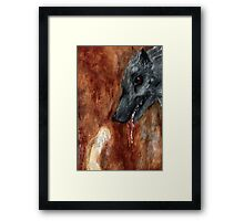 Company of Wolves Framed Print