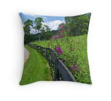 River Road Butler, Kentucky Throw Pillow