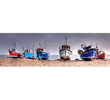 Beer Boats Photographic Print