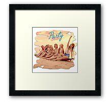 Girls Generation - Let's Party Framed Print