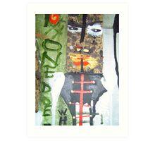 tribe 7 Art Print