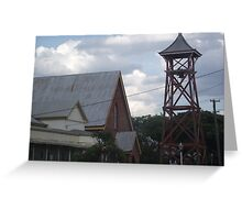 Charters Towers Baptist Church (former Church of Christ and Baptist Church) Greeting Card