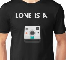 Love is a Polaroid Unisex T-Shirt