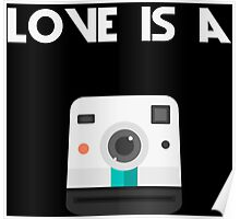 Love is a Polaroid Poster