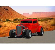 1934 Ford 3 Window Coupe Hot Rod Photographic Print