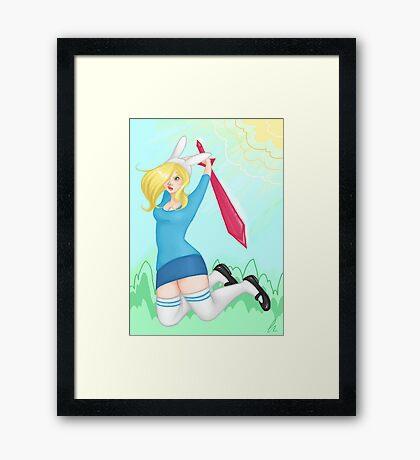 Adventure Time - Fiona Framed Print