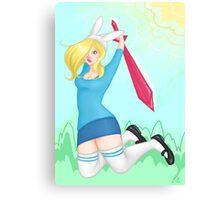 Adventure Time - Fiona Canvas Print