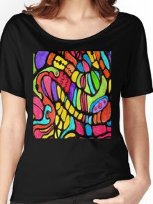 Poly Swirls Women's Relaxed Fit T-Shirt