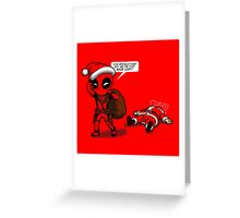Consistently Naughty Greeting Card