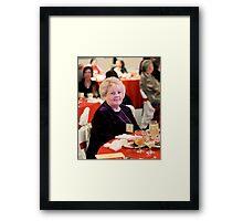 Christmas Luncheon Framed Print
