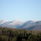 Snow on the Mountains by Hank Eder