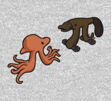 Octopi VS Platypi One Piece - Short Sleeve
