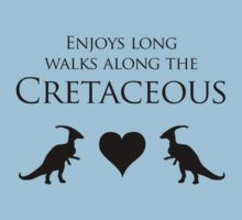 Enjoys Long Walks Along The Cretaceous Kids Clothes