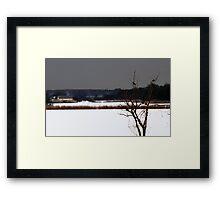 flatland Framed Print