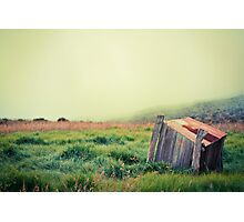 Crater Shack Photographic Print