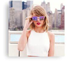Taylor Swift New York 2 Canvas Print