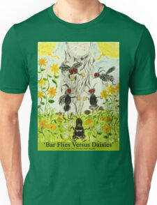 Bar Flies Versus Daisies T-Shirt