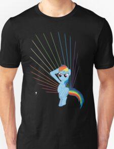 Rainbow Dash Laser Unisex T-Shirt