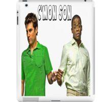 """Psych """"C'mon Son""""  iPad Case/Skin"""