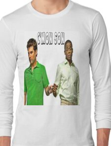 "Psych ""C'mon Son""  Long Sleeve T-Shirt"
