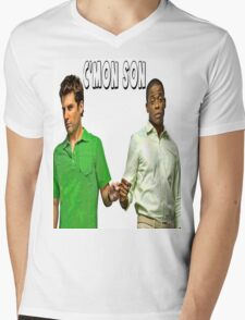 "Psych ""C'mon Son""  Mens V-Neck T-Shirt"
