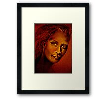 Her Picture.... Framed Print