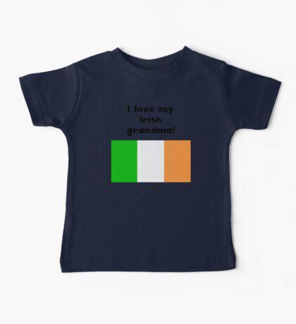 I Love My Irish Grandma Baby Tee