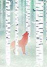 Winter Fox by Sybille Sterk