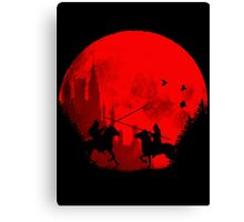 IN THE NAME OF THE KING Canvas Print