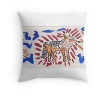 ART FUN by Cheryl D rb-008 Throw Pillow
