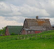 Farm House on a Hill by Bruce Guenter