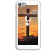 *•.¸♥♥¸.•*CROSS DOVE WITH HEART♥♥ IPHONE CASE *•.¸♥♥¸.•* iPhone Case/Skin