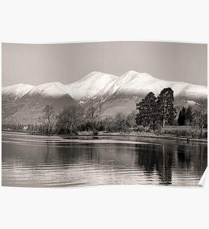 Derwentwater Lake District Poster