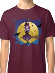 Witch and Full Moon Classic T-Shirt