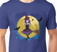 Witch and Full Moon Unisex T-Shirt