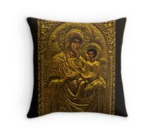 Παναγία . antique shop in Chania . by Doktor Faustus. Views (52) Thx! Throw Pillow