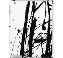 Ink splashes. Abstract stain pattern iPad Case/Skin