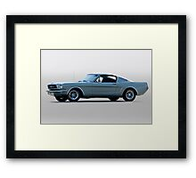 1965 Ford Mustang Fastback 'Show Pony' Framed Print