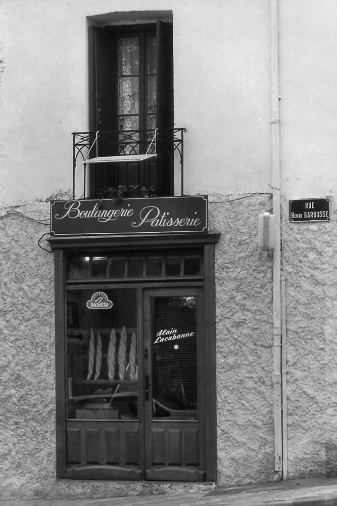 La Boulangerie du village. by Paul Pasco